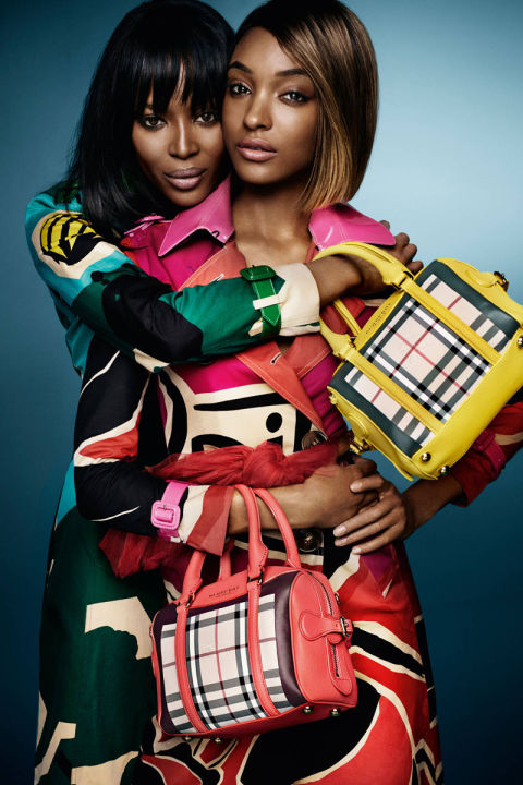 NAOMI CAMPBELL AND JOURDAN DUNN FOR BURBERRY PRORSUM