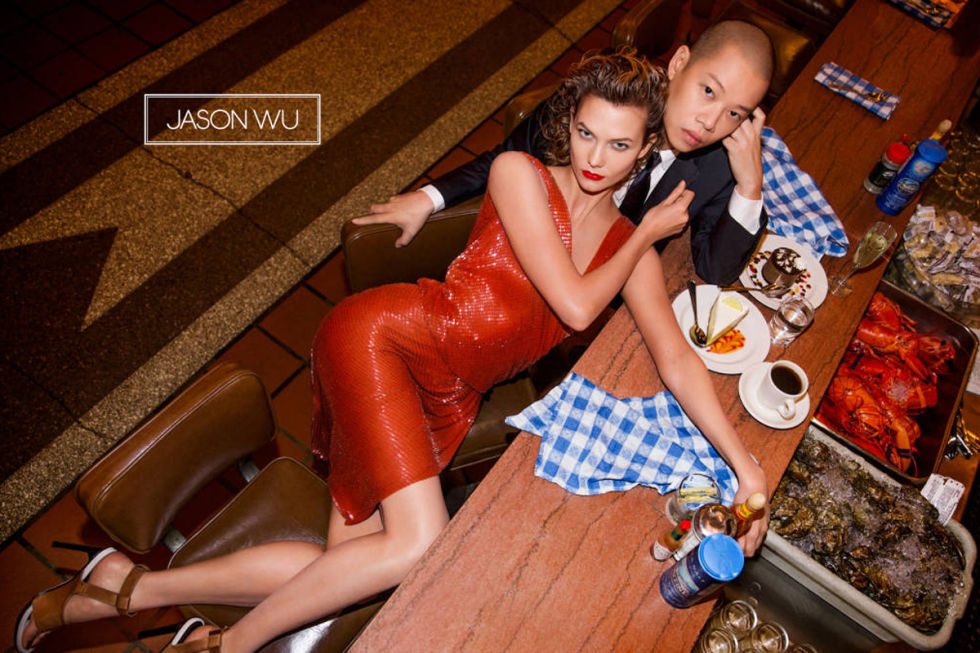 KARLIE KLOSS FOR JASON WU