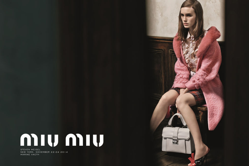 MARINE VACTH FOR MIU MIU