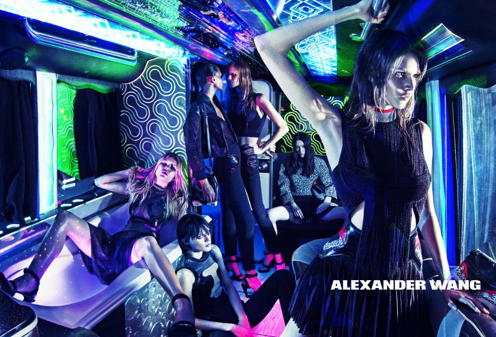 ANNA EWERS, BINX WALTON, LEXI BOLING, VANESSA MOODY, DYLAN XUE, AND SARAH BRANNON FOR ALEXANDER WANG
