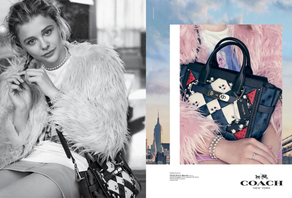 CHLOË GRACE MORETZ FOR COACH
