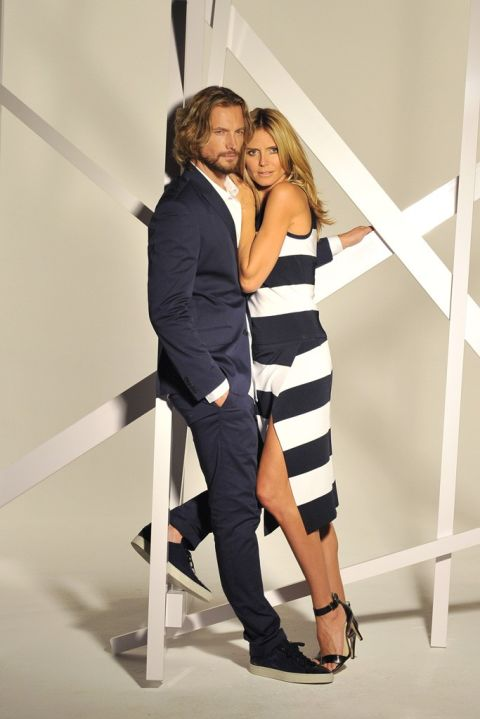 HEIDI KLUM AND GABRIEL AUBRY FOR INC