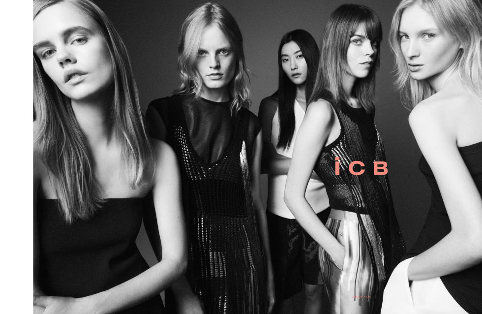 HANNE GABY ODIELE, MEGHAN COLLISON, NASTYA STEN, JIHYE PARK, AND STINA RAPP FOR ICB
